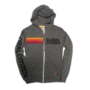 Global Citizen + Aviator Nation Zip Hoodie