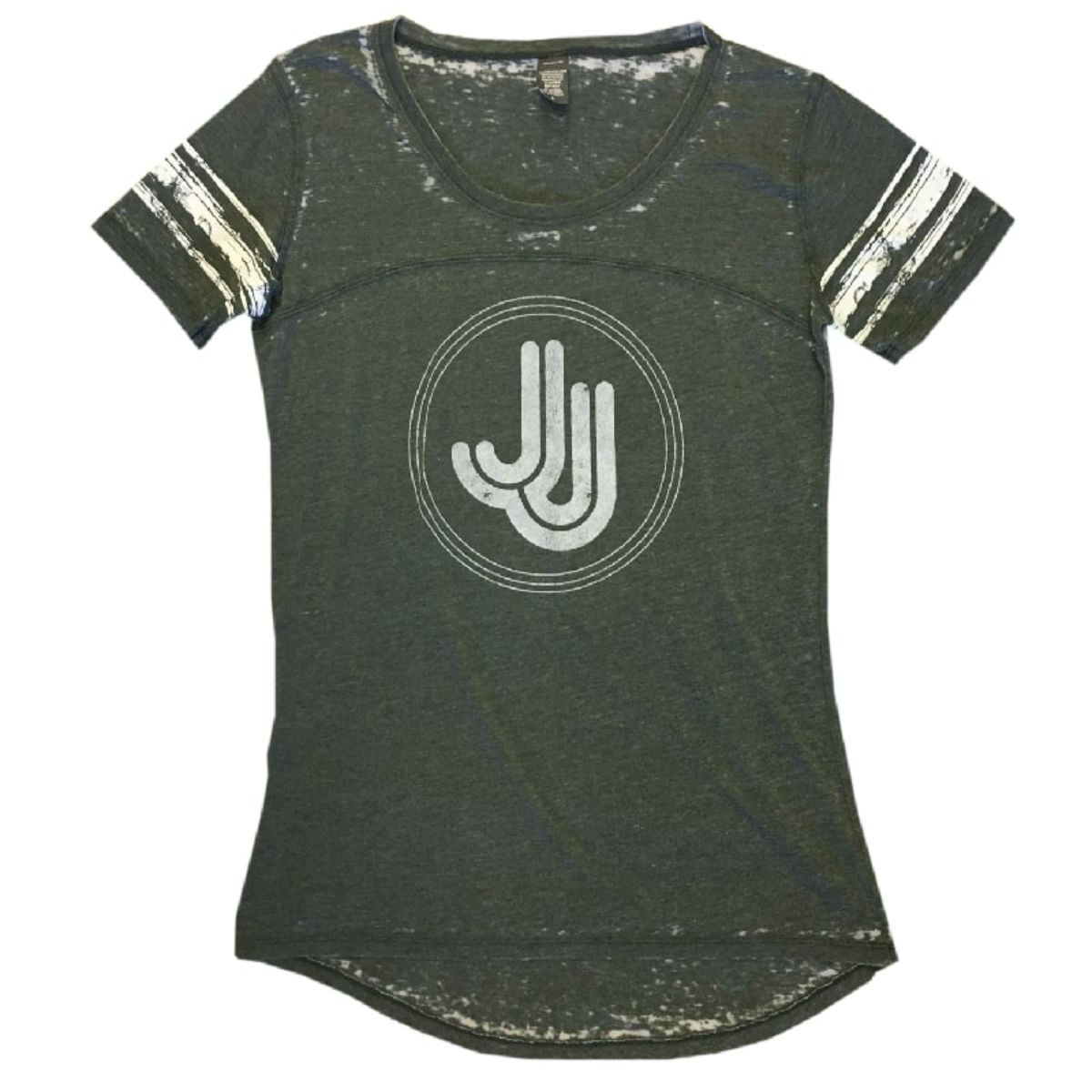 JJ Grey Stripe Jersey Tee
