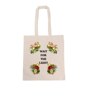 Wait For The Light Tote Bag
