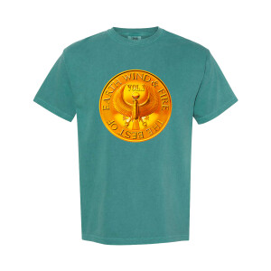 Earth, Wind & Fire Medallion Teal T-Shirt