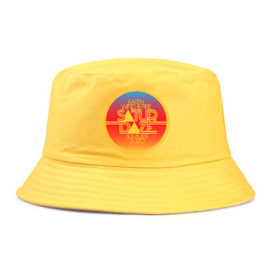 Saturdaze Yellow Bucket Hat