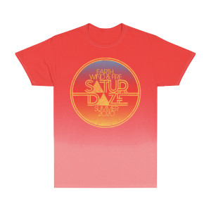 Saturdaze Red Gradient Tee