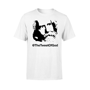 TheTweetOfGod Face Tee