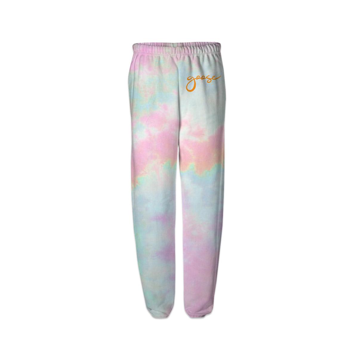 Pastel Tie Dye sweat pants