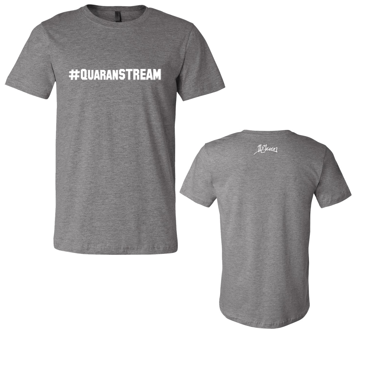 """""""Live From Out There"""" #QuaranSTREAM T-shirt"""