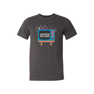 """Live From Out There"" Logo T-shirt"
