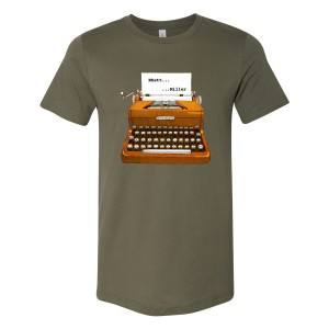 Little Brown Typewriter Tee