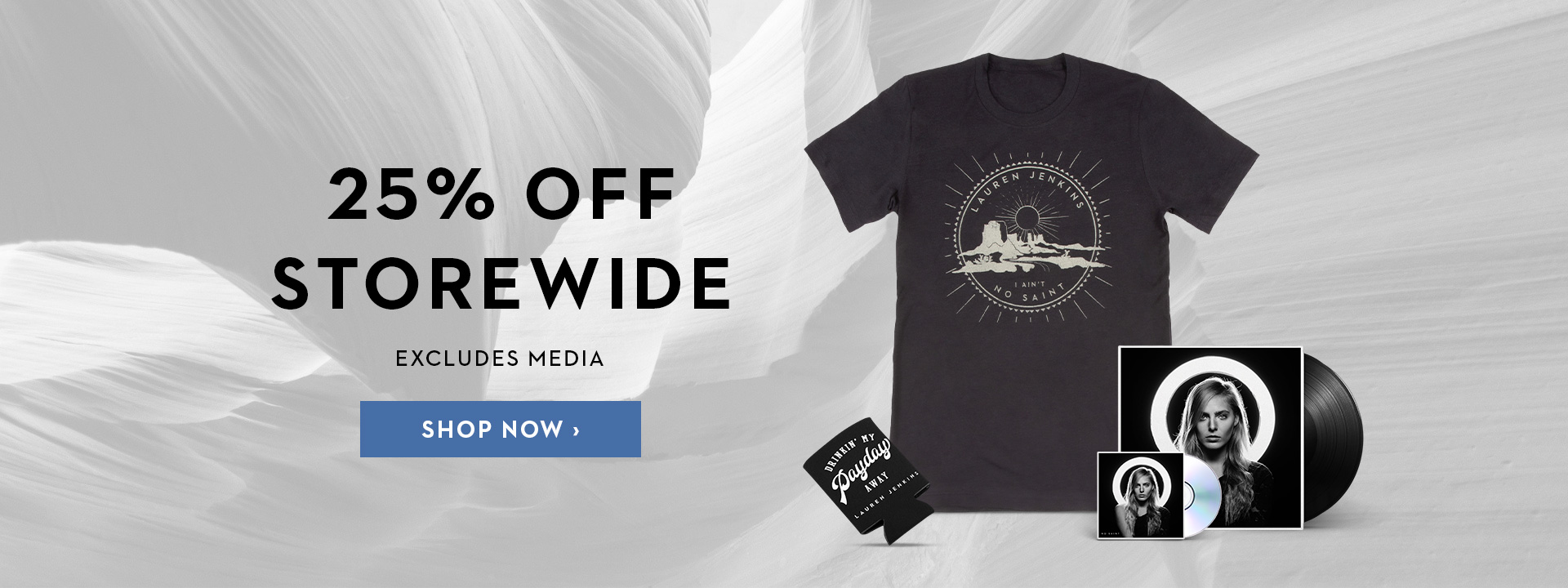 Summer 2020 Sale - 25% Off Storewide - Excludes Media
