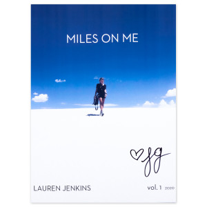 """Miles On Me"" Signed Magazine"