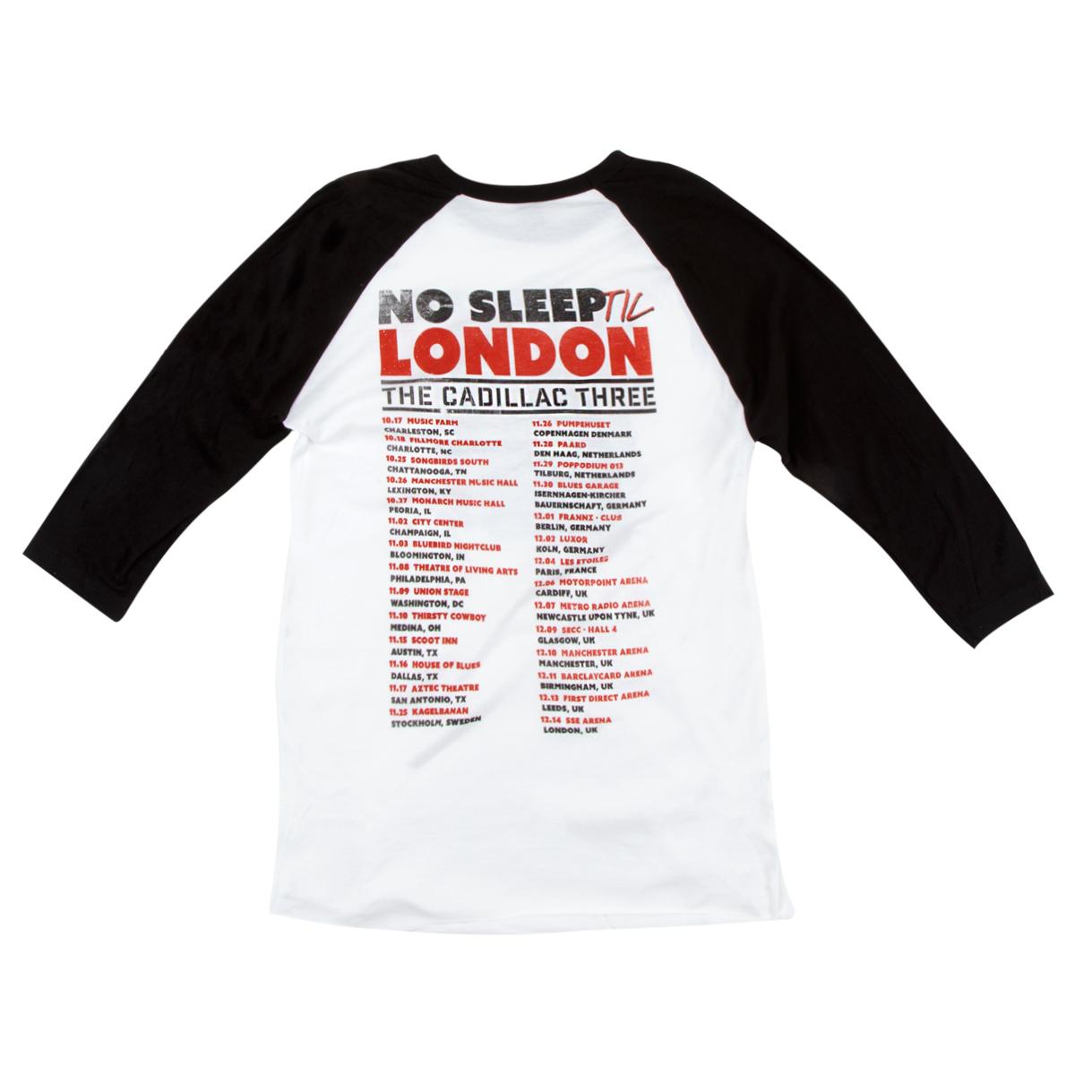 No Sleep Till London Raglan