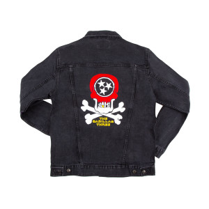 TC3 Embroidered Country Fuzz Jean Jacket