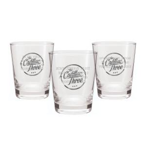 TC3 10th Anniversary Whiskey Glasses- Set of 3