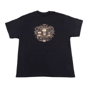 BLACK SKULL TOUR T-SHIRT