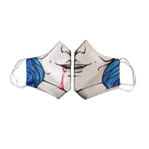 Sublimated Face Mask - Della
