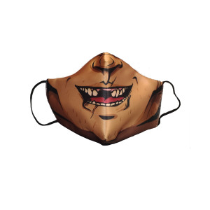 Sublimated Face Mask - Nestor