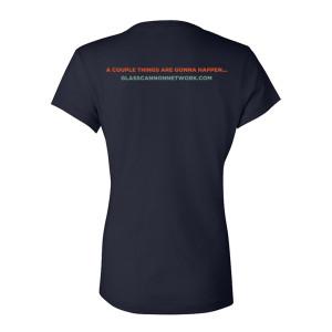 Glass Cannon Network Women's V-Neck T-Shirt