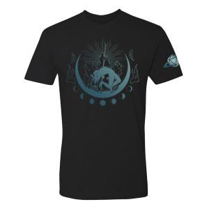 Unisex Four Bears T-shirt, Blue