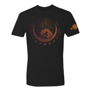 Unisex Four Bears T-shirt, Orange