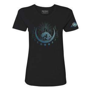 Women's Four Bears T-shirt, Blue