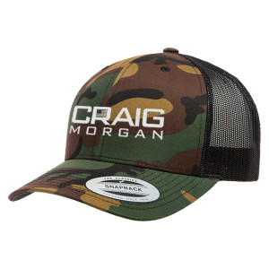 Craig Morgan Camo Trucker Hat