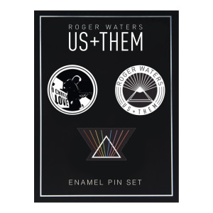 Us + Them Pin Set