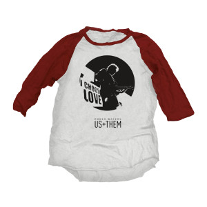 Us + Them Raglan