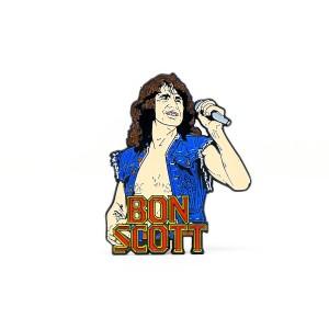 Bon Scott Enamel Pin