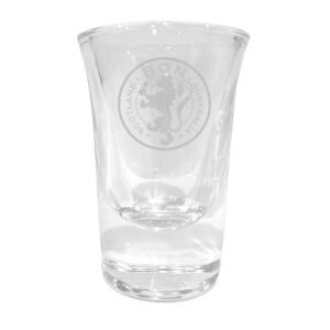 Lion Crest Laser Engraved Shot Glass