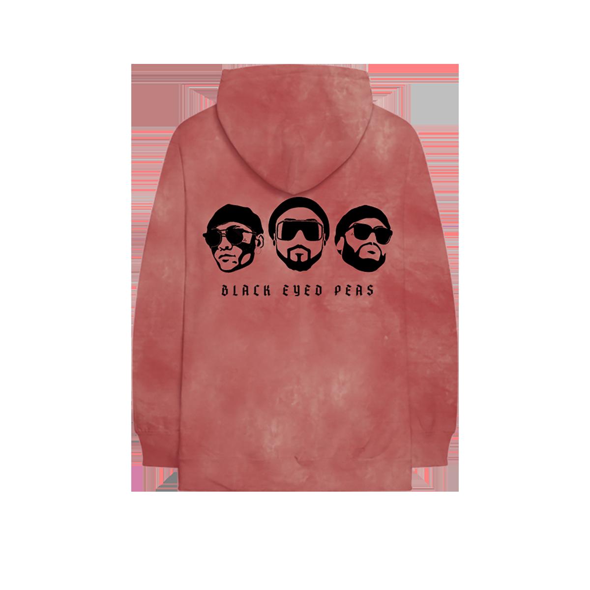 Black Eyed Peas Tie Dye Hoodie