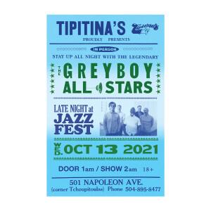Tipitina's 2021 Poster