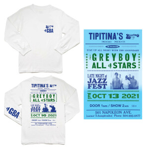 Tipitina's 2021 Long Sleeve T-Shirt/Poster Bundle