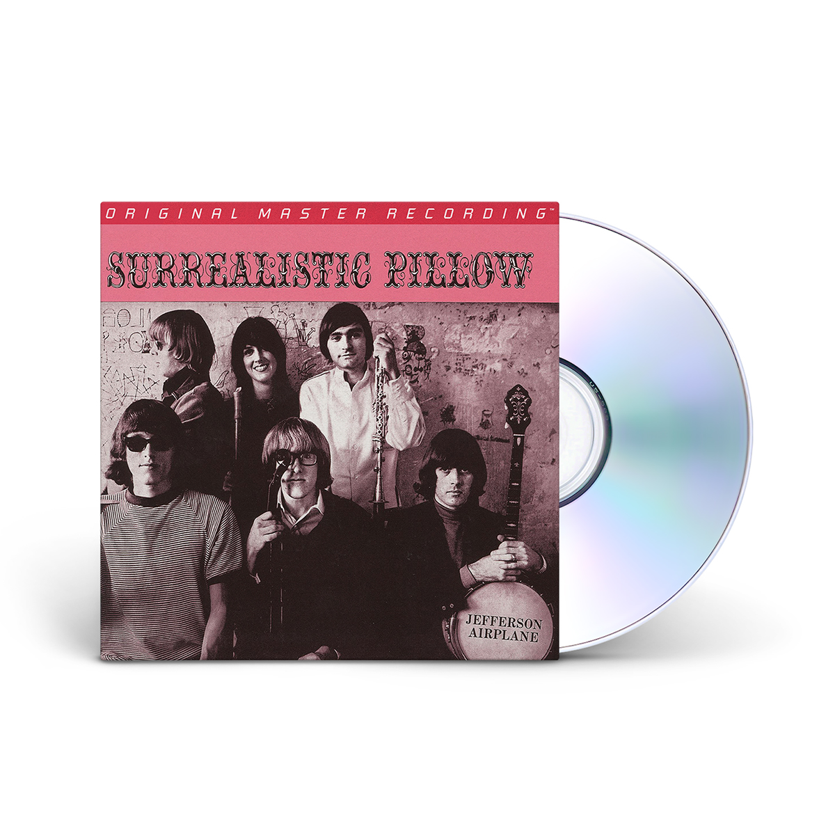 Jefferson Airplane Surrealistic Pillow, Numbered Hybrid Mono SACD