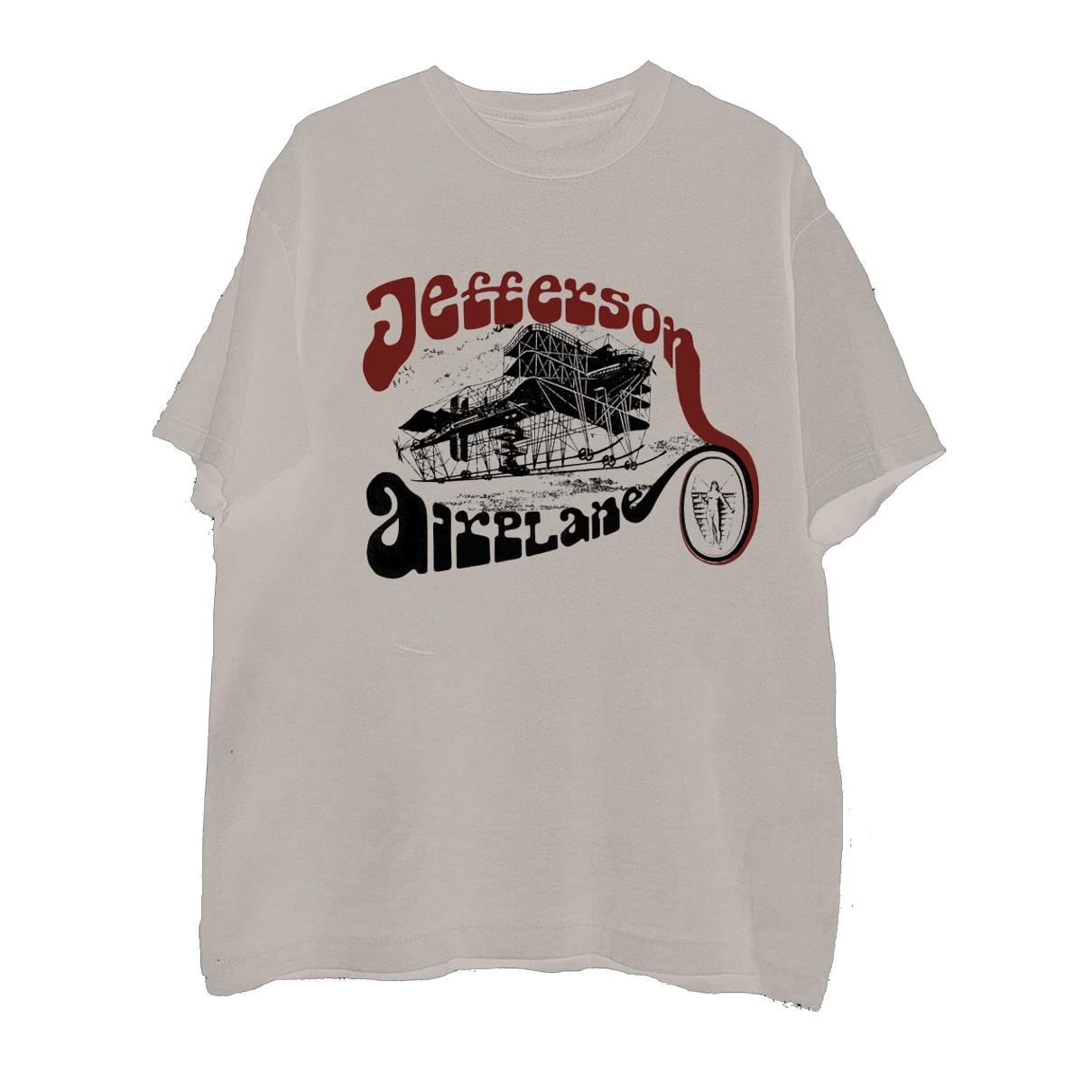 Vintage Plane Natural T-Shirt
