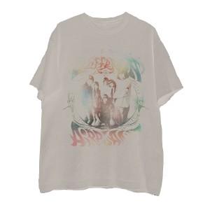 Rainbow Band Photo Natural T-Shirt