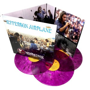 "Jefferson Airplane Woodstock Sunday August 17, 1969 - Limited ""Vibrating"" Violet Vinyl Edition 3-LP Set"