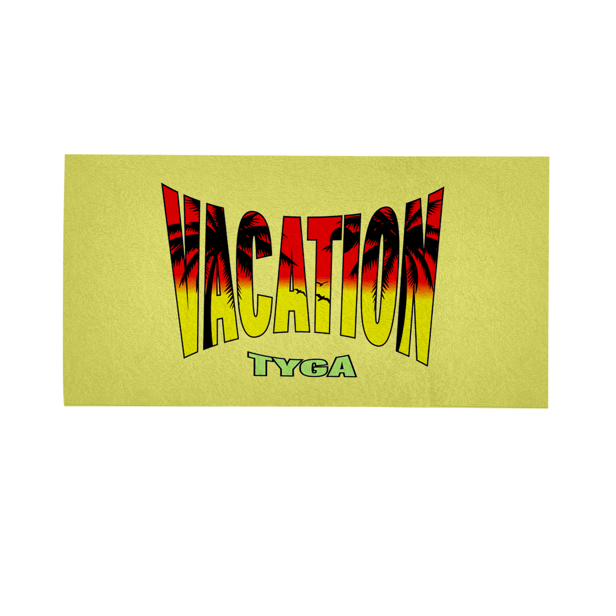 Vacation Beach Towel