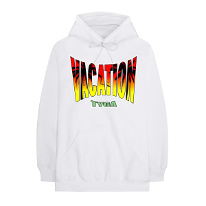 Vacation White Hoodie