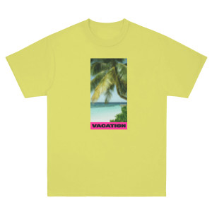 Vacation Photo Yellow Tee