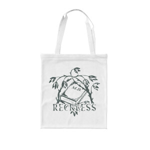 Reckless White Tote Bag