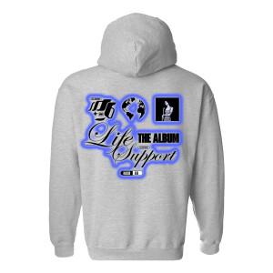 Life Support Art Grey Hoodie