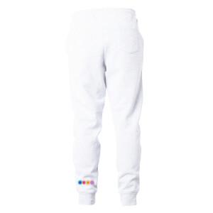Life Support Art White Sweatpants