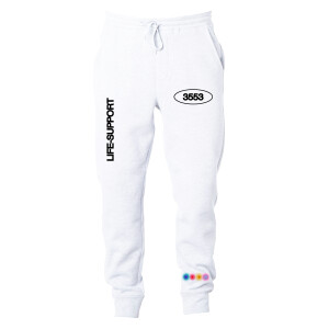Life Support Art White Sweatpants