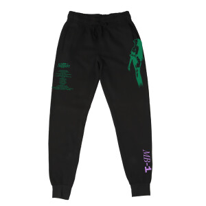 Life Support Green Album Black Sweatpants