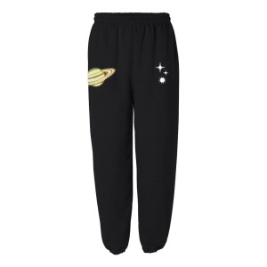 Black Space Sweatpants
