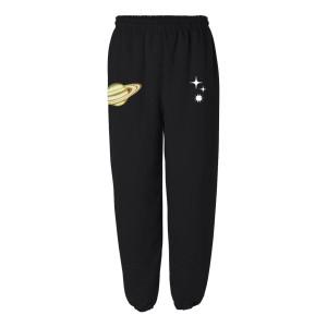 Black Space Sweatpants