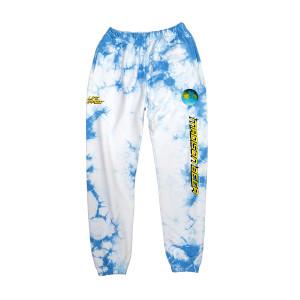 Blue Tie-Dye Sweatpants