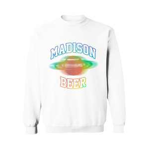 White Rainbow Sweatshirt