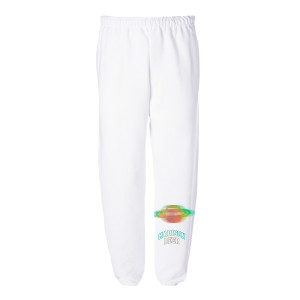 White Rainbow Sweatpants