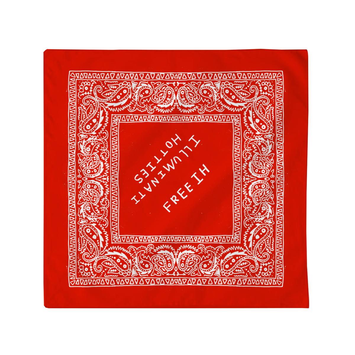 Red Free I.H. Bandana