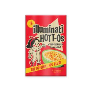 Illuminati Hotties Hott-Os Magnet